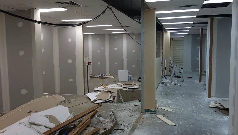 Office Refurbishments - Demolition