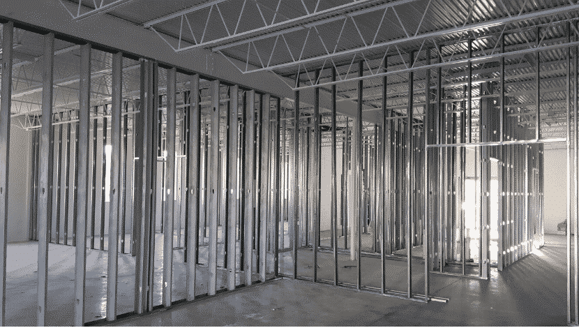 Plasterboard Partitioning
